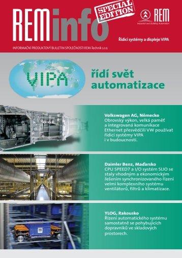 REMinfo VIPA - REM-Technik sro