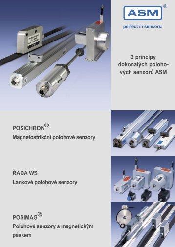 3 principy dokonalých poloho- vých senzorů ... - REM-Technik sro