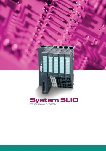 System SLIO - REM-Technik sro