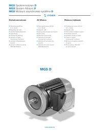 AC Motors - REM-Technik sro