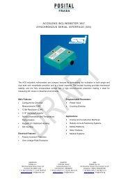 Inclinometer / Tilt Sensor - REM-Technik sro
