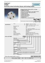 POSITILT® PTAM5 - REM-Technik sro