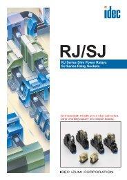 RJ Series Slim Power Relays SJ Series Relay ... - REM-Technik sro
