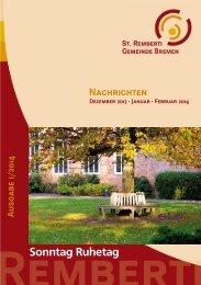PDF-Datei herunterladen - St. Remberti Gemeinde Bremen