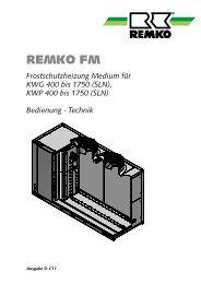 Frostschutzheizung-Medium FM5 D-C11 - Remko