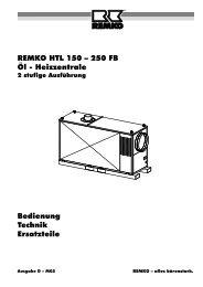 REMKO HTL150-250FB2st