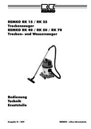 remko rk15-70