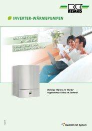 REMKO Inverter-Wärmepumpen 2012