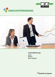 Verkaufsförderung 2012 - Remko