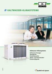 REMKO Kaltwasser-Klimasysteme 2013