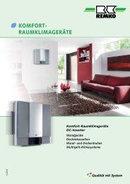 REMKO Komfort-Raumklimageräte 2014