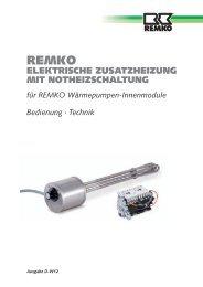 Elektrische Zusatzheizung inkl Notheizschaltung D-W12 - Remko