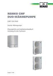 REMKO CMF DUO-WÄRMEPUMPE