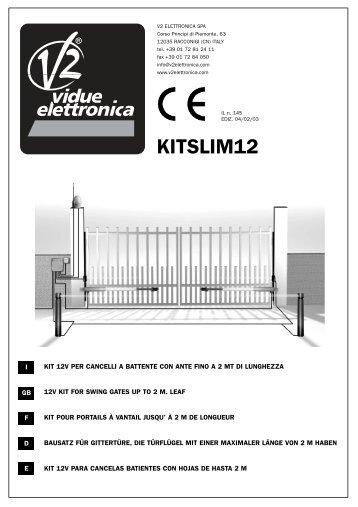 KITSLIM12 - The Remote Control Gate Co
