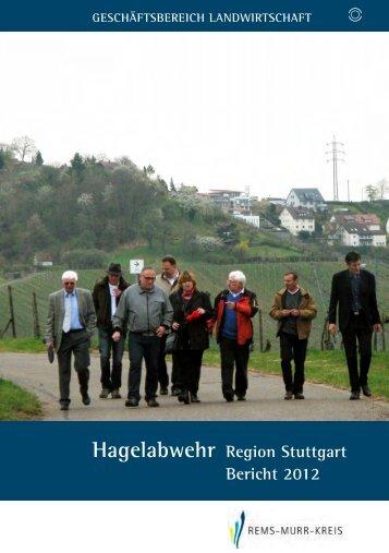 Hagelabwehr Region Stuttgart Bericht 2012 - Landratsamt Rems ...