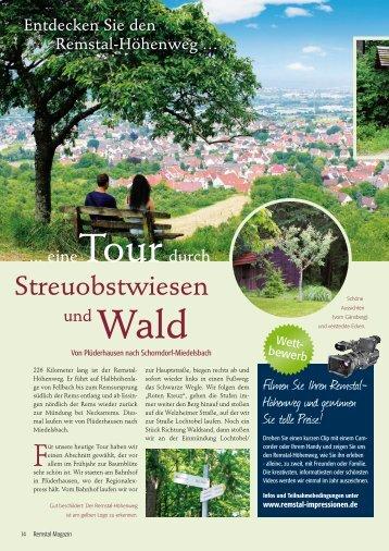 Streuobstwiesen - Remstal-Route