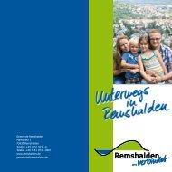 Unterwegs in Remshalden - Remstal-Route