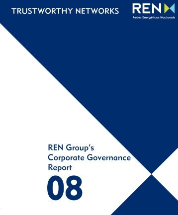 REN Group's Corporate Governance Report