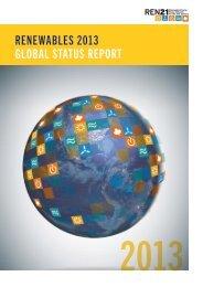 RenewableS 2013 GlObal STaTUS RePORT - REN21