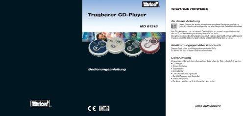 MD 81313 Tevion - Medion