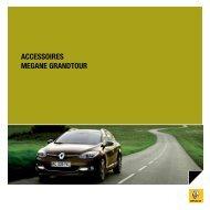 ACCESSIORES MEGANE GRANDTOUR - Renault