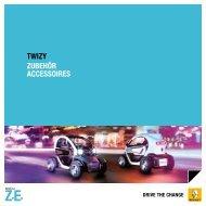 TWIZY ZUBEHÖR ACCESSOIRES - Renault