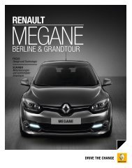RENAULT MEGANE GRANDTOUR COLLECTION 2012