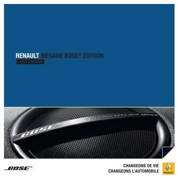 RENAULT MEGANE BOSE® EDITION
