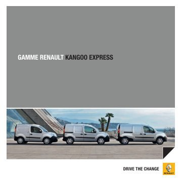 GAMME RENAULT KANGOO EXPRESS