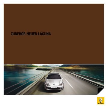 ZUBEHÖR NEUER LAGUNA - Renault