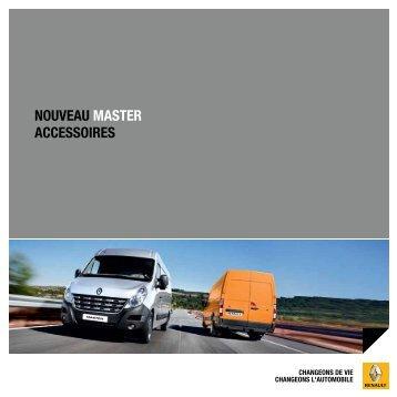 NOUVEAU MASTER ACCESSOIRES - Renault