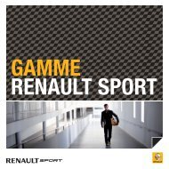 megane rs chassis cup - Renault