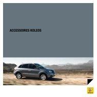 ACCESSOIRES KOlEOS - Renault