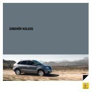 ZUBEHÖR KOLEOS - Renault