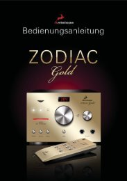 11 ZODIAC Gold - Antelope Audio