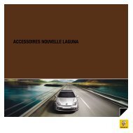 ACCESSOIRES NOUVELLE LAGUNA - Renault