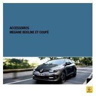 ACCESSOIRES MEGANE BERLINE ET COUPÉ - Renault