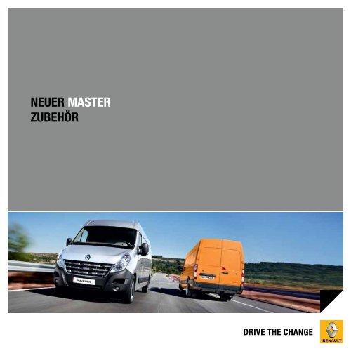 neuer MASTer zubehör - Renault