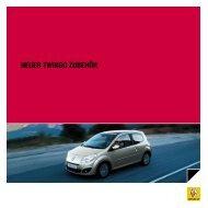 NEUER tWINGO ZUbEhöR - Renault