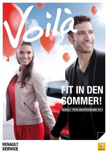 FiT iN dEN SommER! - Renault