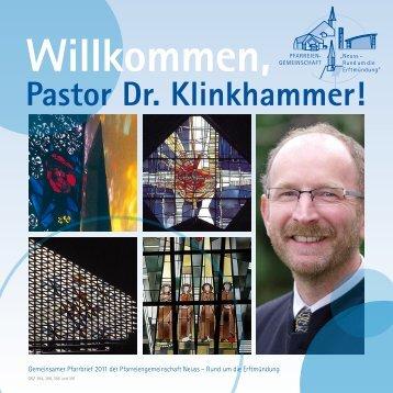 Pastor Dr. Klinkhammer! - erftmuendung.de