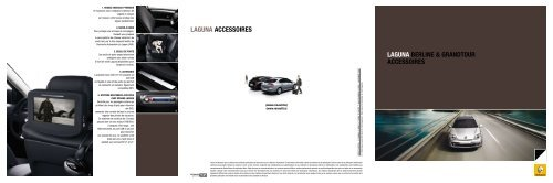 LAGUNA BERLINE & GRANDTOUR ACCESSOIRES ... - Renault.be