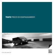 TRAFIC PREZZI ED EQUIPAGGIAMENTI - Renault