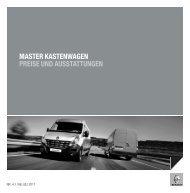 master kastenwagen preise und ausstattungen - Renault