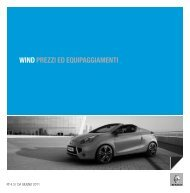 WIND PREZZI ED EQUIPAGGIAMENTI - Renault