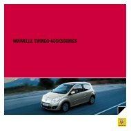 NOUVELLE tWINGO accEssOIrEs - Renault