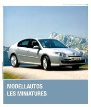 MODELLAUTOS LES MINIATURES - Renault