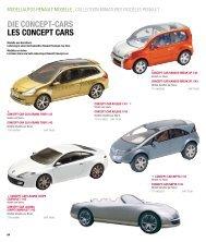 DIE CONCEPT-CARS LES CONCEPT CARS - Renault