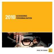 2010ACCESSOIRES PERSONNALISATION