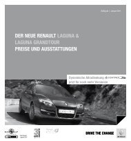 Der Neue reNault laguNa & laguNa graNDtour Preise uND ...